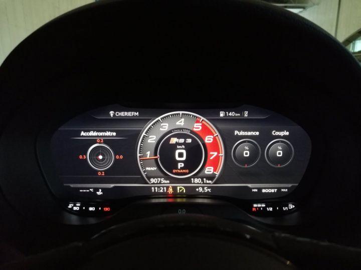 Audi RS3 SPORTBACK 2.5 TFSI 400 CV QUATTRO BVA Noir - 12