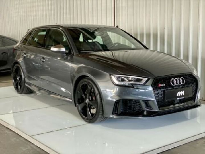 Audi RS3 Sportback 2.5 TFSI 400 S tronic 7 Quattro / Garantie 12 mois / Gris métallisée  - 1