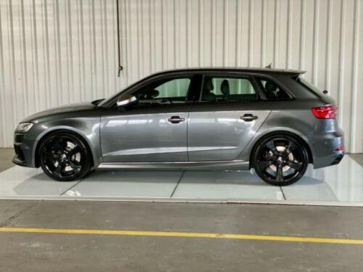 Audi RS3 Sportback 2.5 TFSI 400 S tronic 7 Quattro / Garantie 12 mois / Gris métallisée  - 2