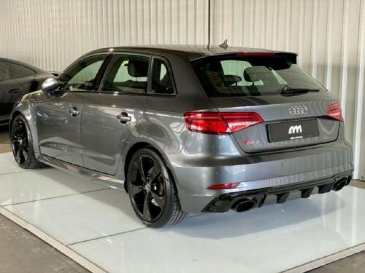 Audi RS3 Sportback 2.5 TFSI 400 S tronic 7 Quattro / Garantie 12 mois / Gris métallisée  - 3