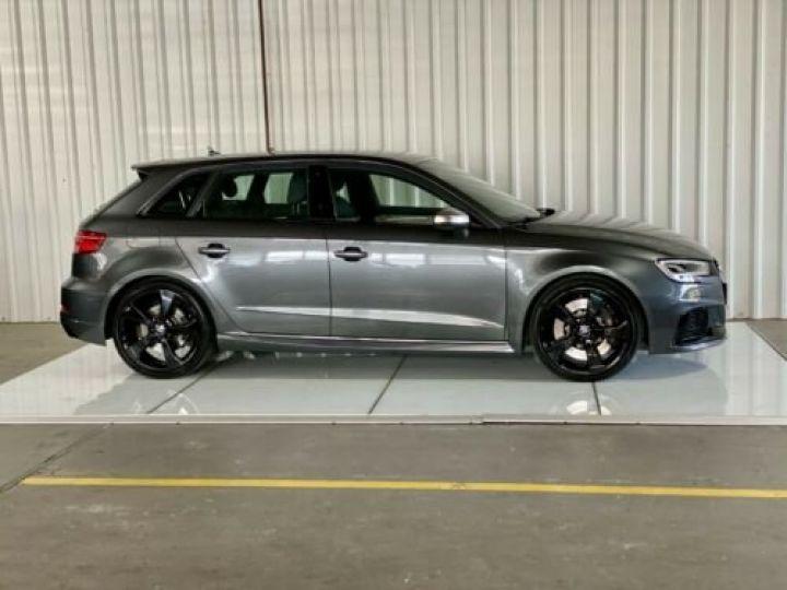 Audi RS3 Sportback 2.5 TFSI 400 S tronic 7 Quattro / Garantie 12 mois / Gris métallisée  - 4