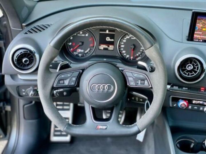 Audi RS3 Sportback 2.5 TFSI 400 S tronic 7 Quattro / Garantie 12 mois / Gris métallisée  - 7