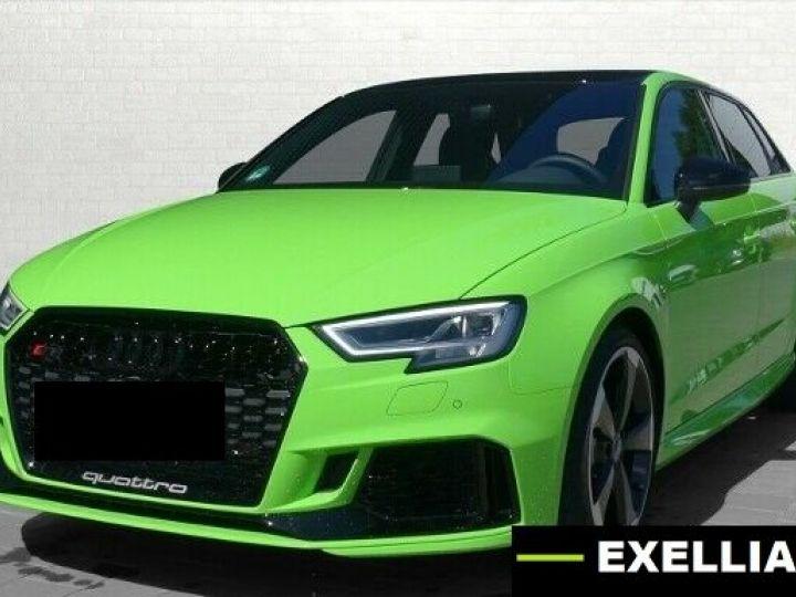 Audi RS3 Sportback 2.5 TFSI Quattro  VERT PEINTURE METALISE Occasion - 1