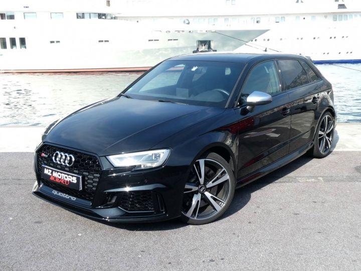 Audi RS3 SPORTBACK II 2.5 TFSI 400 CV QUATTRO S-tronic Noir Mythos Occasion - 2