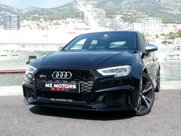 Audi RS3 SPORTBACK II 2.5 TFSI 400 CV QUATTRO S-tronic Noir Mythos Occasion - 4