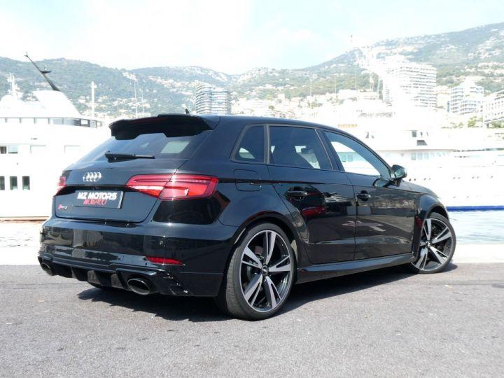 Audi RS3 SPORTBACK II 2.5 TFSI 400 CV QUATTRO S-tronic Noir Mythos Occasion - 8
