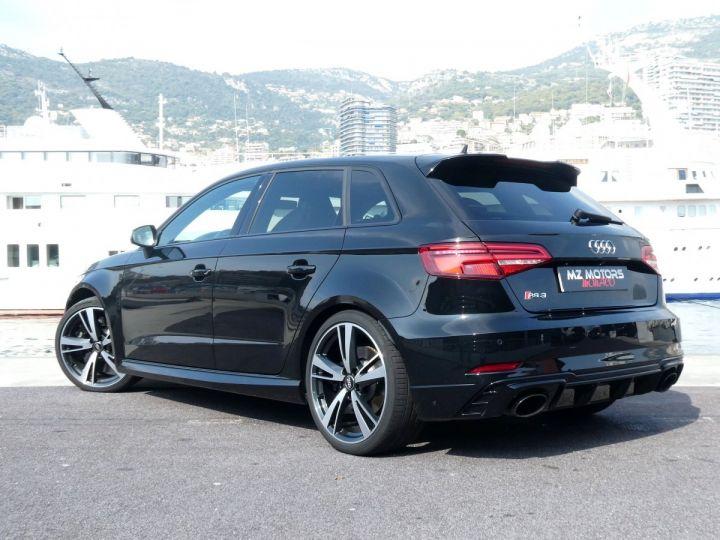 Audi RS3 SPORTBACK II 2.5 TFSI 400 CV QUATTRO S-tronic Noir Mythos Occasion - 12