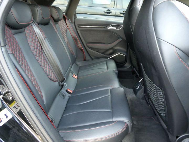 Audi RS3 SPORTBACK II 2.5 TFSI 400 CV QUATTRO S-tronic Noir Mythos Occasion - 19
