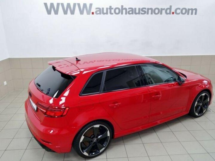 Audi RS3 sportback * malus inclus *  rouge - 2