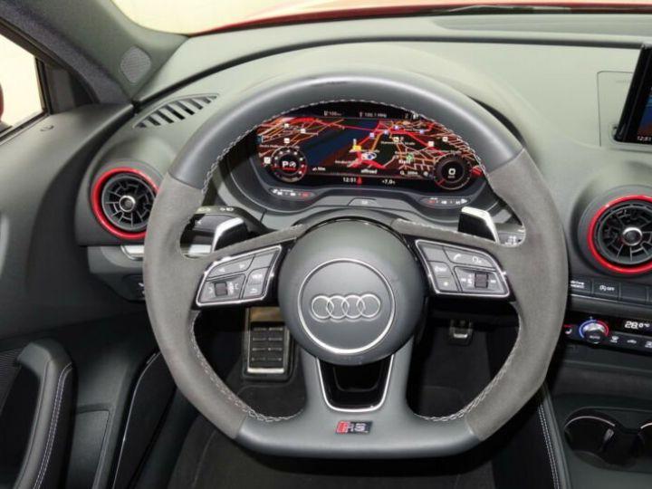 Audi RS3 sportback * malus inclus *  rouge - 11