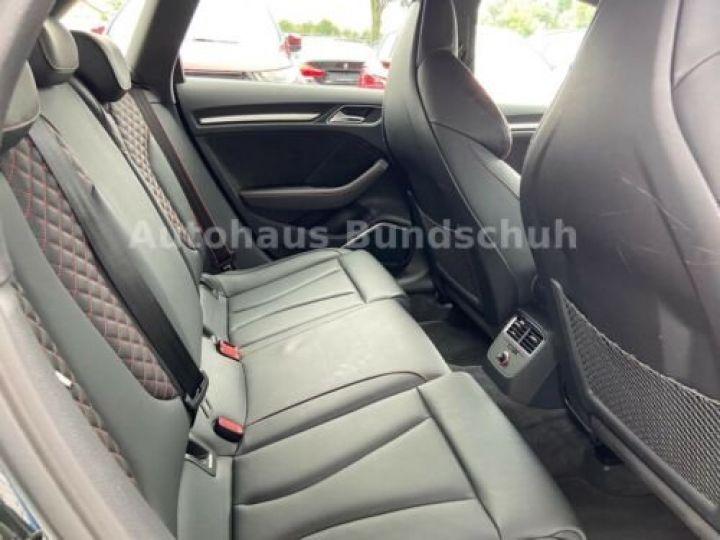 Audi RS3 Sportback S tronic / GPS / Camera Recul /Radar / Garantie 12 mois Noir métallisée  - 10