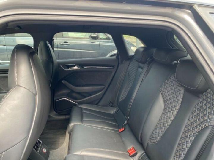 Audi RS3 Toit Panoramique / Sièges RS / Caméra de recul / Enceinte B&O / Echappement RS Gris nardo - 12