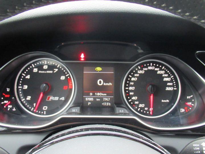 Audi RS4 4.2 V8 FSI 450CH QUATTRO S TRONIC 7 Gris Daytona - 17