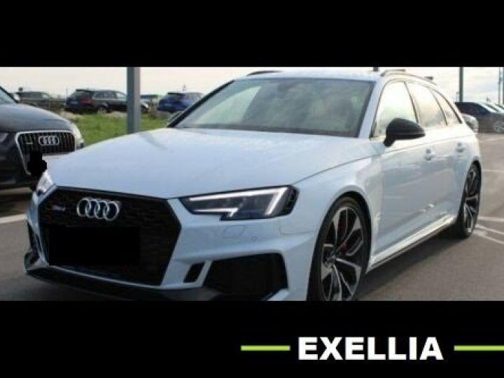 Audi RS4 Audi RS 4 Avant BlackEdition VMAX SportAGA Matrix HUD BLANC METALISEE Occasion - 1