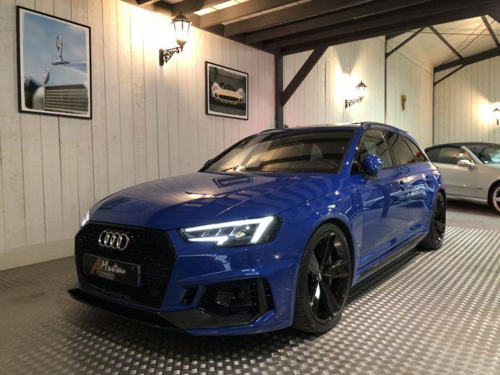 Audi RS4 AVANT 2.9 TFSI 450 CV QUATTRO BVA Bleu - 2