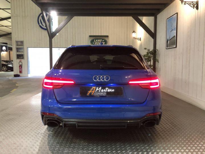 Audi RS4 AVANT 2.9 TFSI 450 CV QUATTRO BVA Bleu - 4