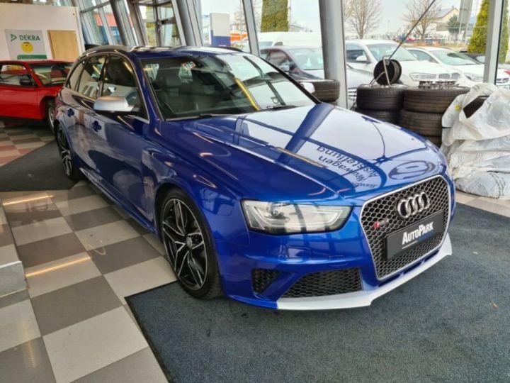 Audi RS4 Avant 4.2 FSI quattro * S-Line * Bleu - 1