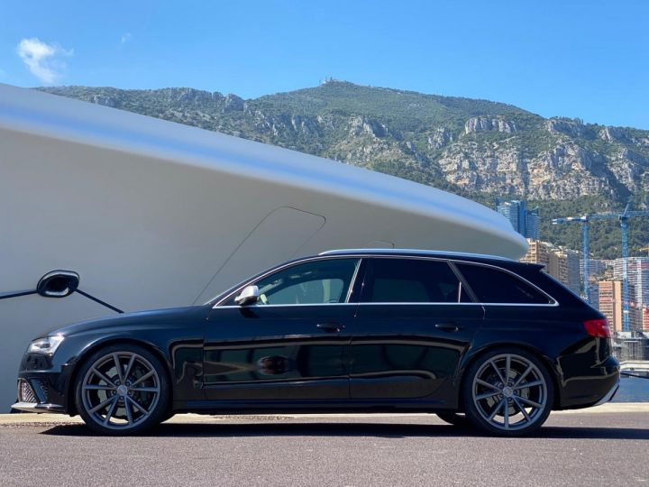 Audi RS4 AVANT 4.2 V8 TFSI 450 CV QUATTRO S TRONIC 7  - MONACO Noir Métal - 4