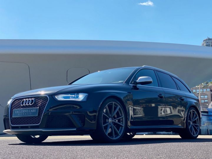 Audi RS4 AVANT 4.2 V8 TFSI 450 CV QUATTRO S TRONIC 7  - MONACO Noir Métal - 5