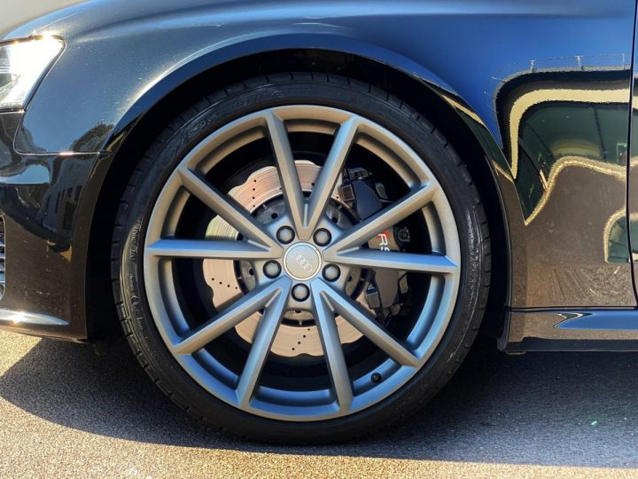 Audi RS4 AVANT 4.2 V8 TFSI 450 CV QUATTRO S TRONIC 7  - MONACO Noir Métal - 17