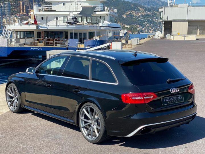 Audi RS4 AVANT 4.2 V8 TFSI 450 CV QUATTRO S TRONIC 7  - MONACO Noir Métal - 21