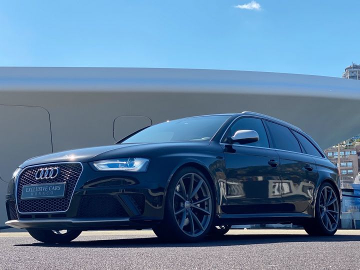 Audi RS4 AVANT 4.2 V8 TFSI 450 CV QUATTRO S TRONIC 7 - MONACO Noir Metal - 5