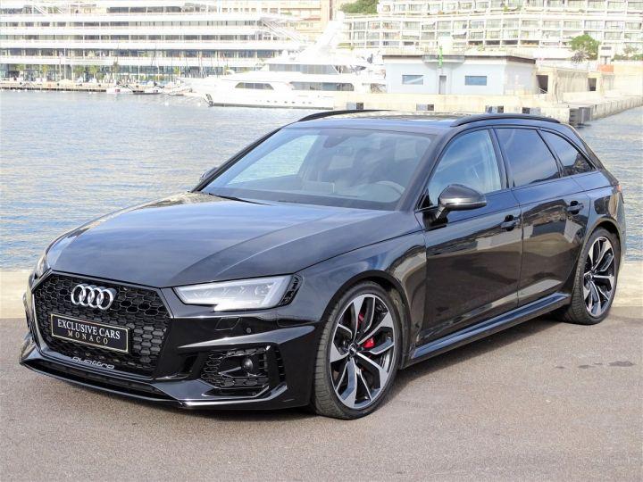 Audi RS4 AVANT QUATTRO 2.9 TFSI 450 CV - MONACO Noir Métal - 1