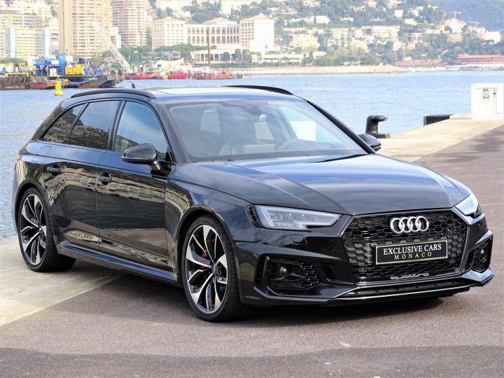 Audi RS4 AVANT QUATTRO 2.9 TFSI 450 CV - MONACO Noir Métal - 3