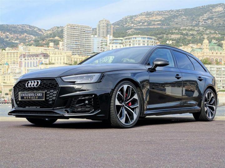 Audi RS4 AVANT QUATTRO 2.9 TFSI 450 CV - MONACO Noir Métal - 13