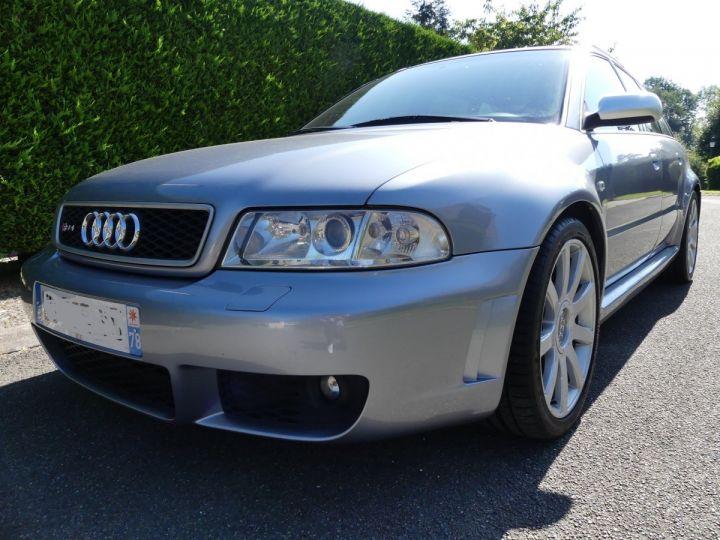 Audi RS4 B5 V6 2.7 biturbo 380cv Gris Avus nacré Occasion - 1