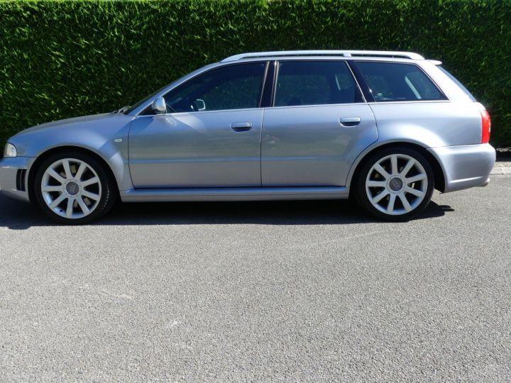 Audi RS4 B5 V6 2.7 biturbo 380cv Gris Avus nacré Occasion - 2