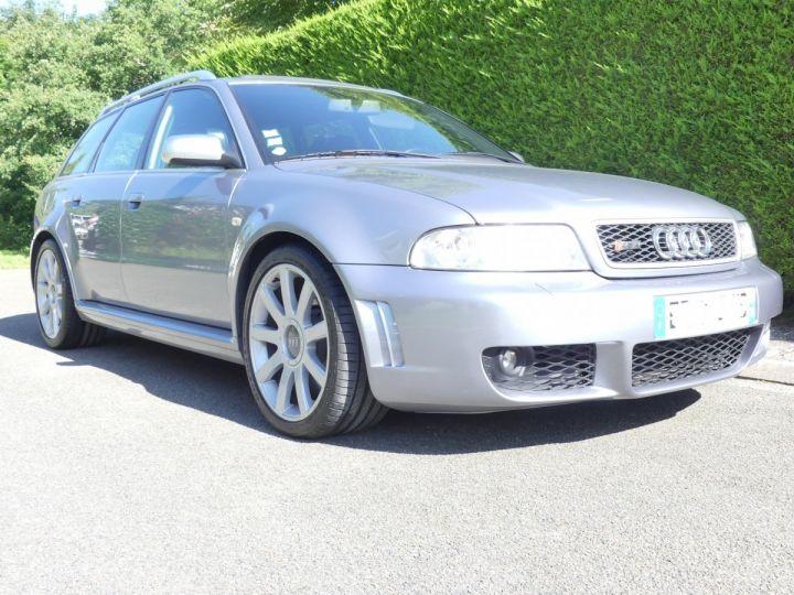 Audi RS4 B5 V6 2.7 biturbo 380cv Gris Avus nacré Occasion - 4