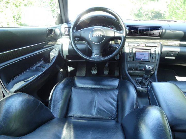 Audi RS4 B5 V6 2.7 biturbo 380cv Gris Avus nacré Occasion - 10