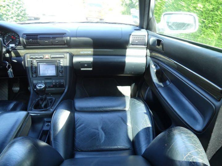 Audi RS4 B5 V6 2.7 biturbo 380cv Gris Avus nacré Occasion - 11