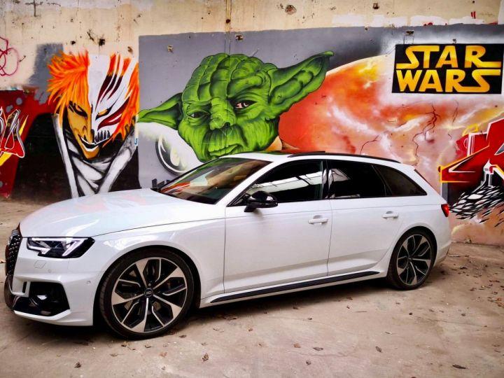 Audi RS4 Pack Dynamique pot sport toit pano blanc glacier - 6