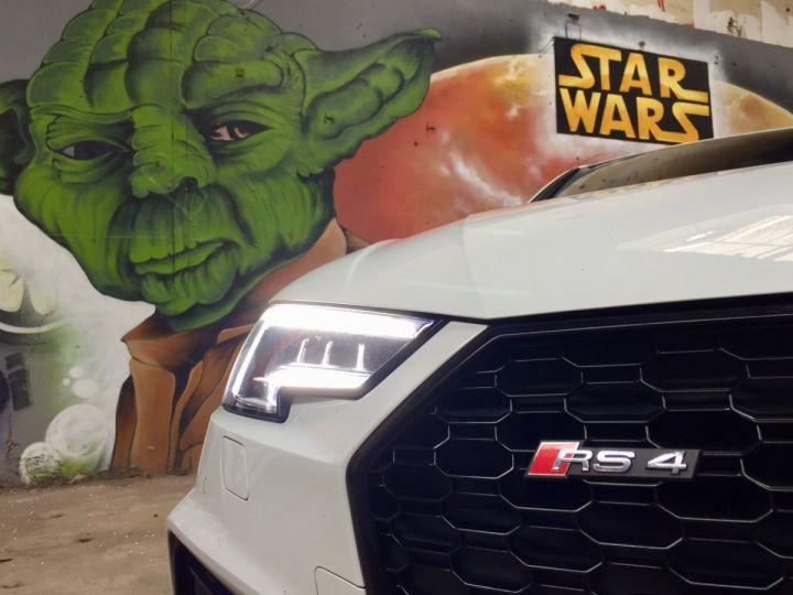 Audi RS4 Pack Dynamique pot sport toit pano blanc glacier - 3