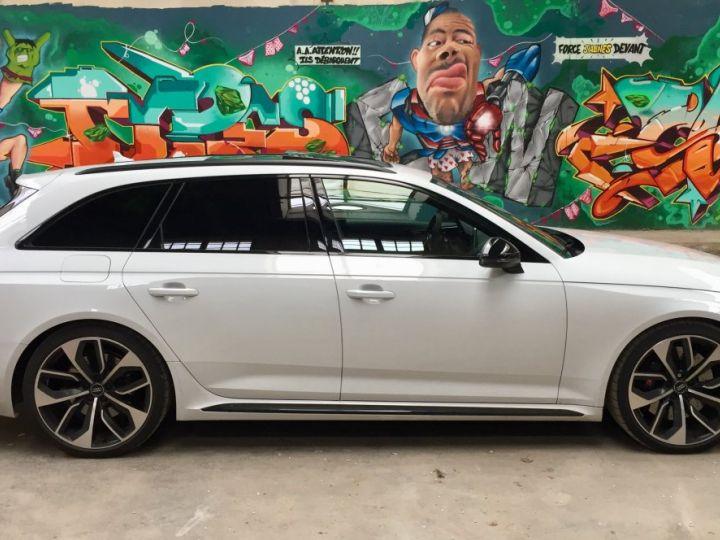 Audi RS4 Pack Dynamique pot sport toit pano blanc glacier - 5