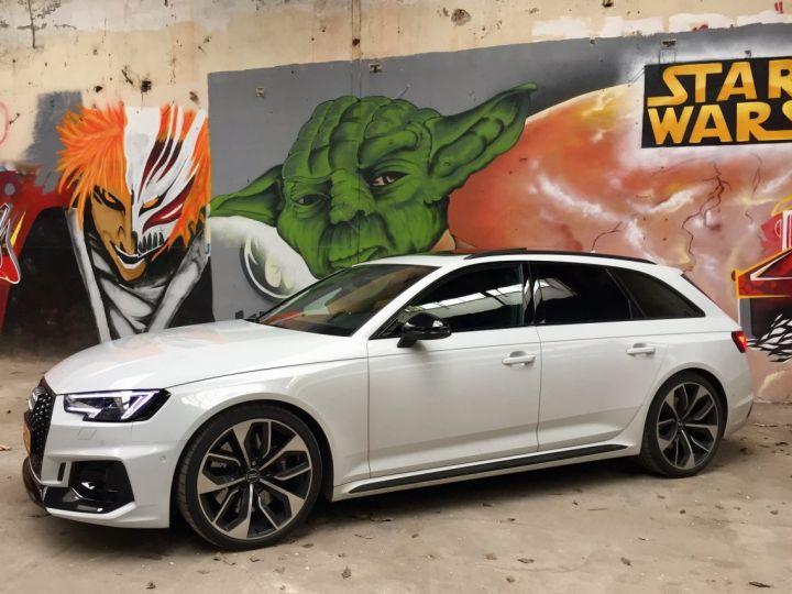 Audi RS4 Pack Dynamique pot sport toit pano blanc glacier - 4