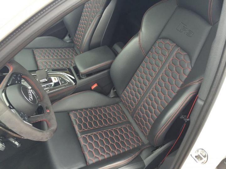 Audi RS4 Pack Dynamique pot sport toit pano blanc glacier - 7
