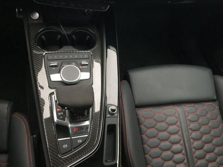 Audi RS4 Pack Dynamique pot sport toit pano blanc glacier - 10