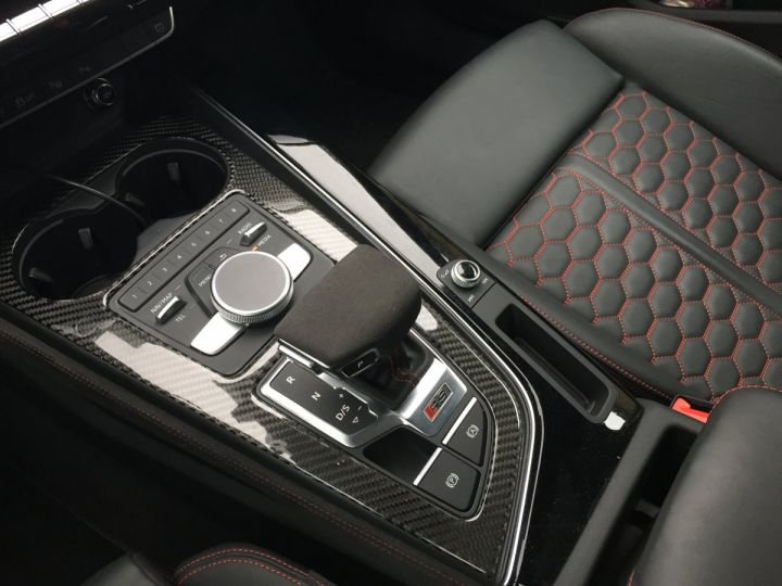 Audi RS4 Pack Dynamique pot sport toit pano blanc glacier - 11