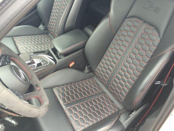 Audi RS4 Pack Dynamique pot sport toit pano blanc glacier - 13