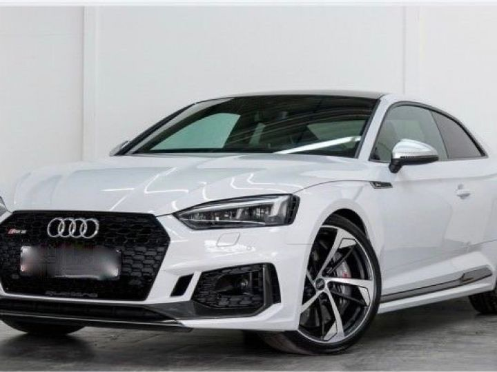 Audi RS5 2.9L TFSI blanc - 1