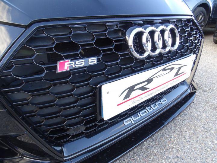 Audi RS5 2.9L TFSI 450ps Quattro Tipt/ Jtes 20  Camera B.Olufsen  Memoire + chauffants   Noir metallisé - 5