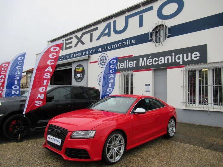 Audi RS5 4.2 V8 FSI 450CH QUATTRO S TRONIC 7 Rouge - 1