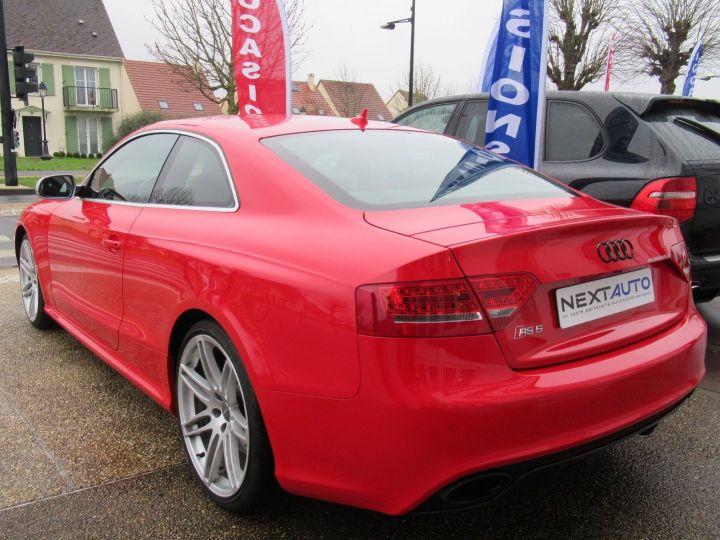 Audi RS5 4.2 V8 FSI 450CH QUATTRO S TRONIC 7 Rouge - 3