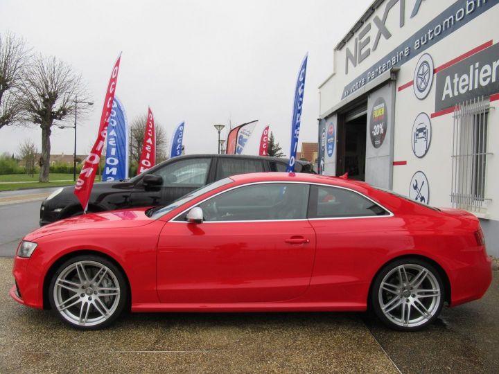 Audi RS5 4.2 V8 FSI 450CH QUATTRO S TRONIC 7 Rouge - 5