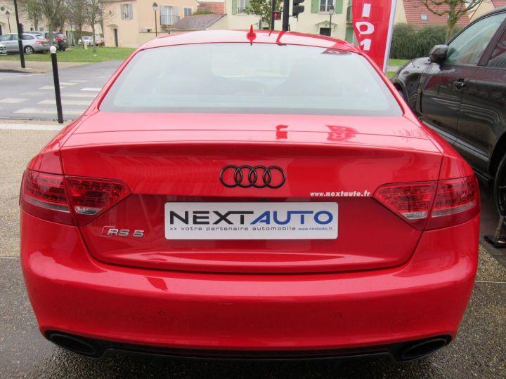 Audi RS5 4.2 V8 FSI 450CH QUATTRO S TRONIC 7 Rouge - 7