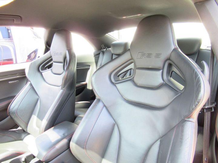 Audi RS5 4.2 V8 FSI 450CH QUATTRO S TRONIC 7 Rouge - 9