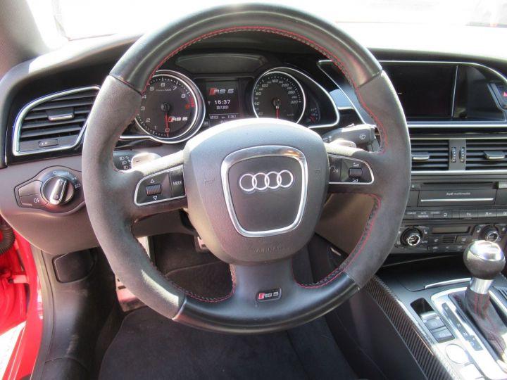 Audi RS5 4.2 V8 FSI 450CH QUATTRO S TRONIC 7 Rouge - 10